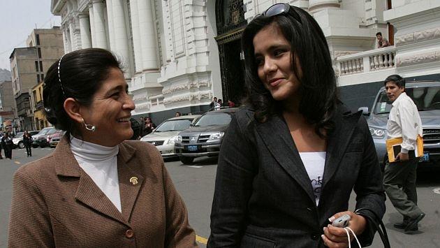 Sheyla Chávez trabaja en el Parlamento desde agosto pasado. (Perú21)