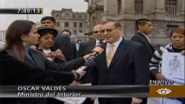Los familiares de las víctimas se trasladaron hasta Lima. (América TV)