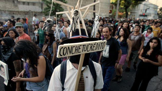 Estudiantes chilenos reclaman la gratuidad de la enseñanza desde hace siete meses. (Reuters)