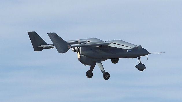 Prototipo de un avión no tripulado. (Imagen referencial)