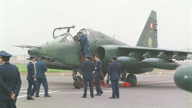 Los aviones Sukhoi-25 generan polémica con el retorno de una cuestionada empresa a nuestro país. (USI)