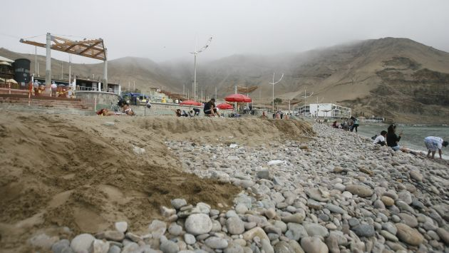 Municipio de Lima invirtió más de 11 millones de soles en La Herradura sin realizar estudios oceanográficos. (Mario Zapata)