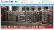 Senado argentino aprobó ley para controlar producción de papel