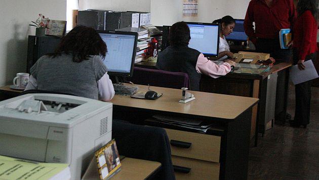 El Ejecutivo propone eliminar el CAS gradualmente a partir del 2013. (USI)