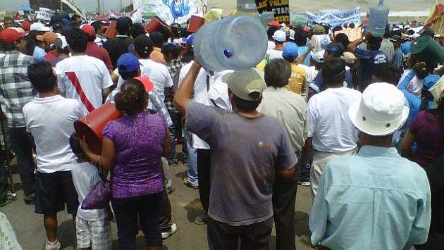 Los pobladores exigen una respuesta por parte de las autoridades. (Capital)