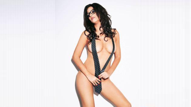 La modelo ya posó semidesnuda en la revista. (Soho Perú)