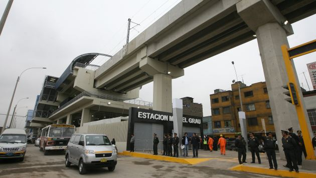 El segundo tramo de la Línea 1 comenzará en la estación Grau. (USI)