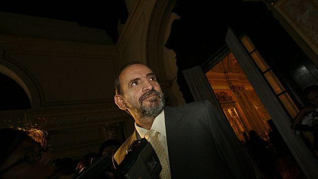 Simon anticipó que seguirá votando en contra del bloque si no está de acuerdo. (César Fajardo)
