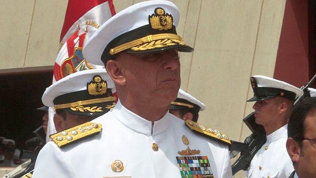 El almirante Cueto destacó la lucha contra el narcotráfico, el tráfico de armas y la minería ilegal. (USI)