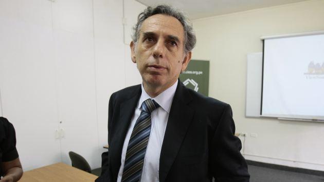 Francke busca mejorar imagen de Essalud sacando a funcionarios con malos antecedentes. (Rafael Cornejo)