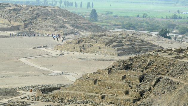 El manejo del complejo arqueológico de Caral es un ejemplo a seguir por las autoridades. (USI)