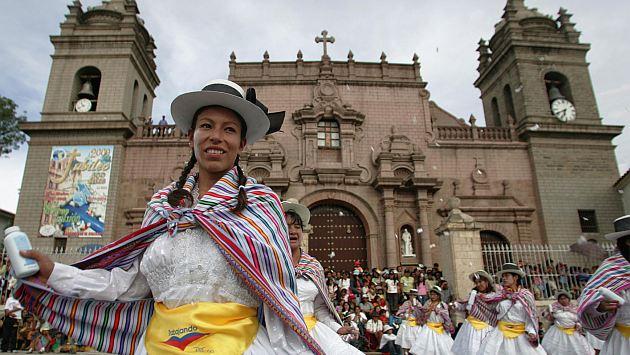 Carnaval de Ayacucho fue declarado Patrimonio Cultural de la Nación en 2003. (USI)