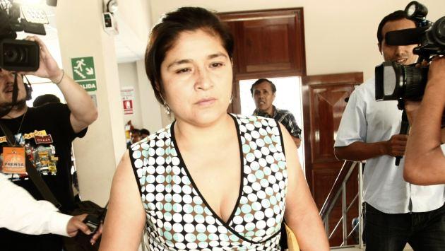 INDEFENDIBLE. Nancy Obregón renunció para no perjudicar más la alicaída imagen del Legislativo. (César Fajardo)