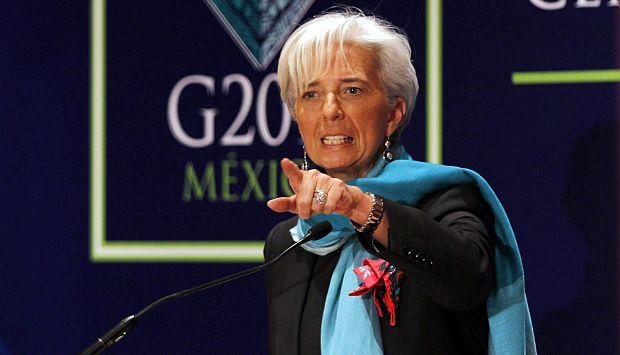 Directora gerente del FMI se reunió hace algunos días con ministros de Finanzas del G20. (Reuters)