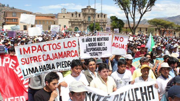 Patria Roja manda a sus cuadros hacia Cajamarca para sumarse a Santos. (David Vexelman)