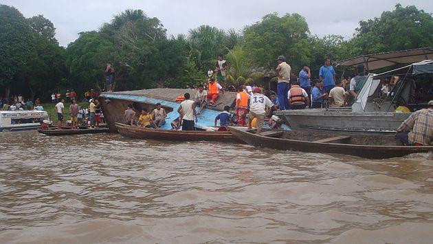 El río Amazonas alcanzó un nivel de 117.06 metros sobre el nivel del mar. (USI)