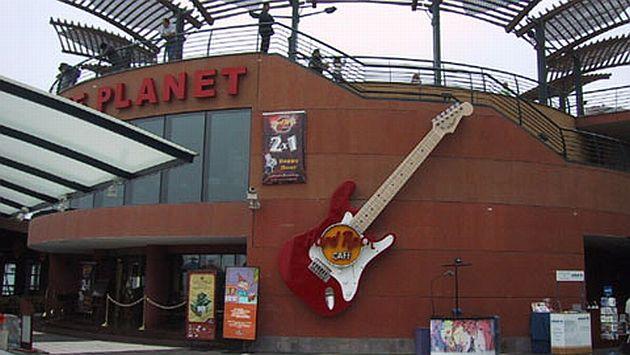 Local de Hard Rock en Larcomar hace más de una década atrás. (Difusión)