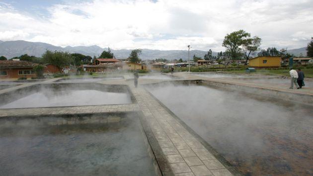 Las aguas termales tienen propiedades medicinales. (USI)