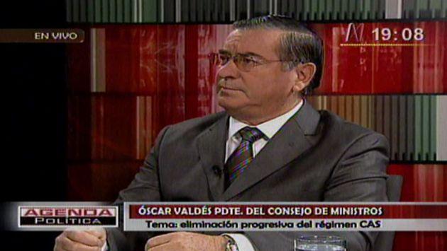Premier dijo que ministros trabajan en el tema.  (Canal N)