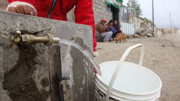 Unas 720 mil personas en Lima y Callao carecen de agua potable. (USI)
