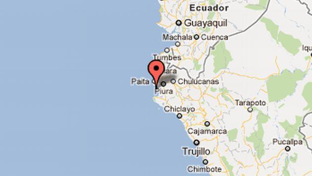 El temblor tuvo una profundidad de 40 kilómetros.(IGP)