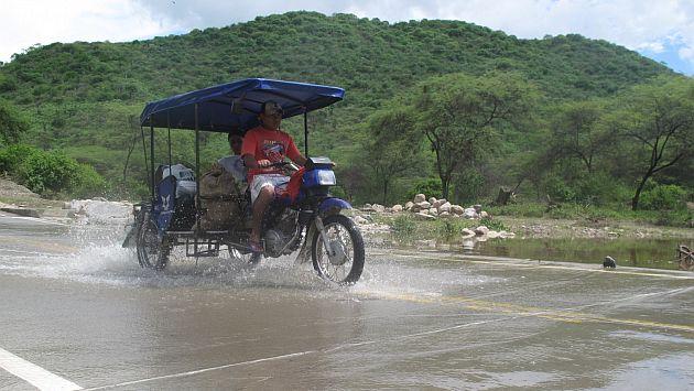 Lluvias causaron inundaciones en varios puntos de Loreto. (Perú21/Referencial)