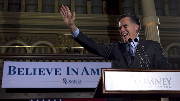 Mitt Romney se afianza como el favorito para enfrentar a Obama. (AP)