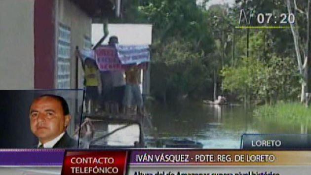 Unas 40 mil viviendas resultaron afectadas por los desbordes. (Canal N)