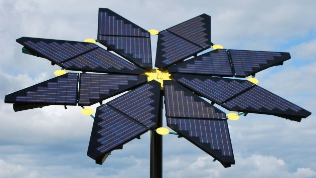 El proyecto europeo Sunflower plantea el uso de paneles reciclables de plástico. (USI)