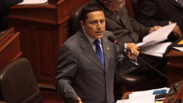 El congresista Elías Rodríguez debe darle explicaciones a los miembros de su partido. (Alberto Orbegoso)