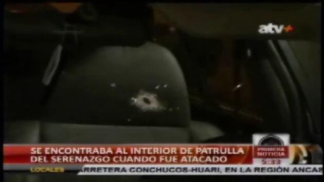 San Miguel: Agente de Serenazgo herido de bala en persecución - Perú21