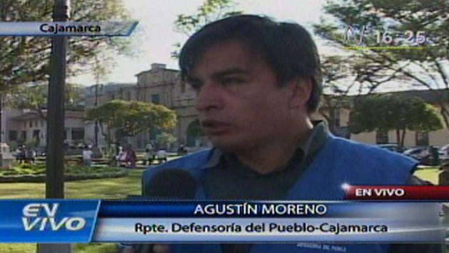 Agustín Moreno expresó posición de la institución. (Canal N)