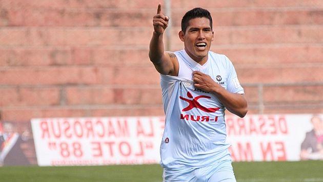 Racha. Pando es el goleador del torneo local. (USI)