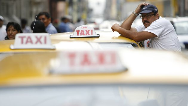 Se estima que hay más de 200 mil taxistas en Lima. (USI)