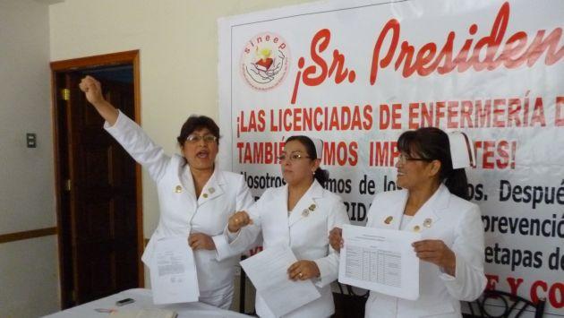 Enfermeras del Ejército y de la Policía anuncian paro nacional