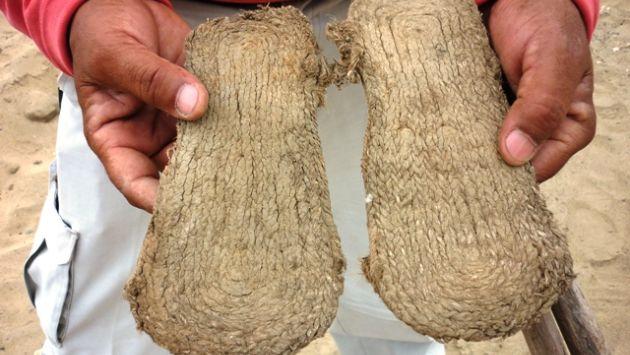 Sandalias de fibra vegetal. (Difusión)