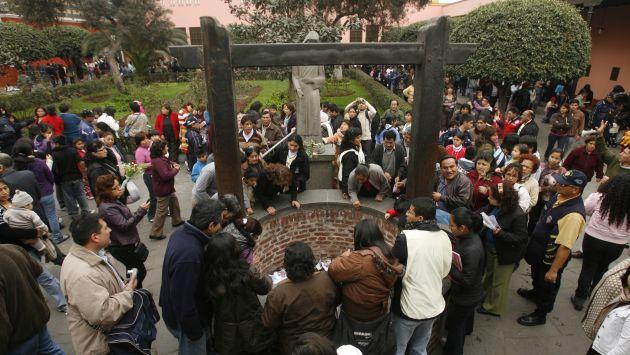 Fieles pueden enviar por WhatsApp sus peticiones a santa Rosa de Lima