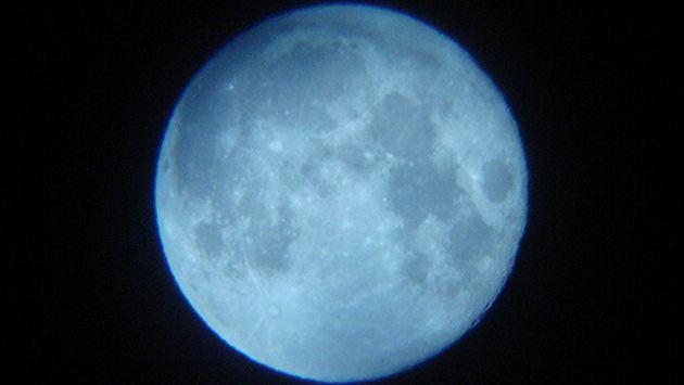 La 39 luna azul 39 aparecer hoy mundo peru21 for Que fase lunar hay hoy