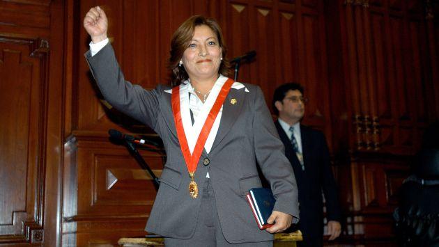 ¿TIENE CORONA? Parece que a Escalante nadie la mueve como directora general de Gobierno Interior. (Difusión)