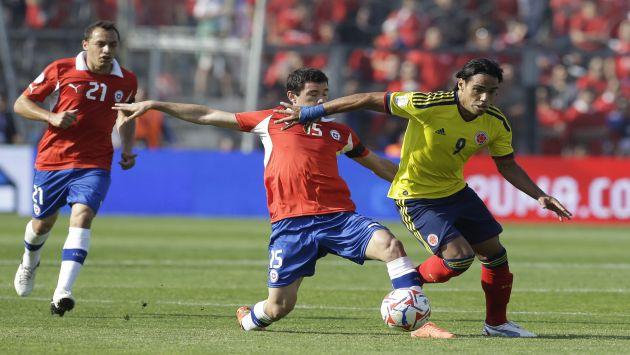 Falcao fue la figura de Colombia. (AP/CMD)