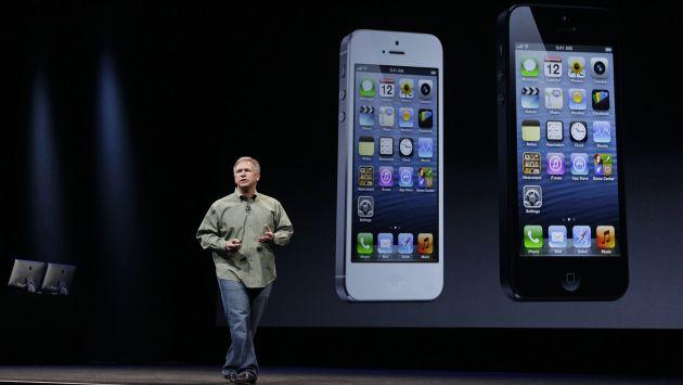 Phil Schiller en la presentación del iPhone 5. (Reuters)