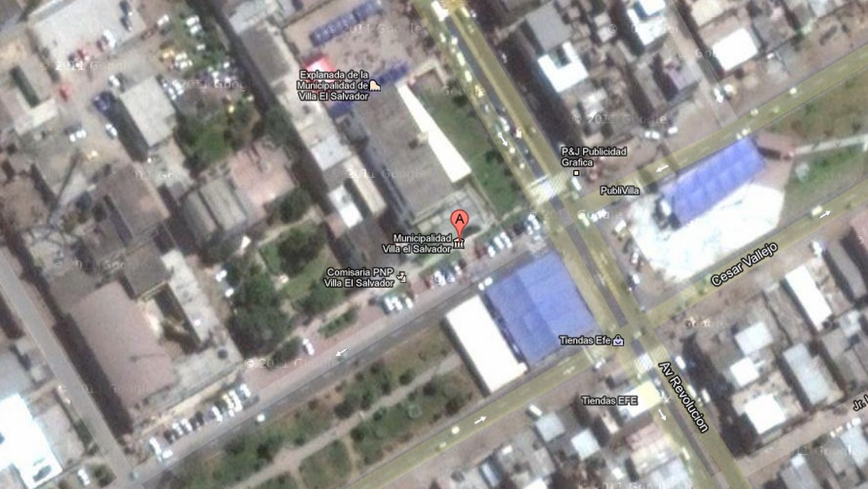 Evacuan municipalidad de villa el salvador tras amenaza de for Plano de villa el salvador