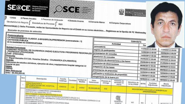 Licitación más importante la gana empresa de Espinoza (en foto), vinculado a Vallejos.