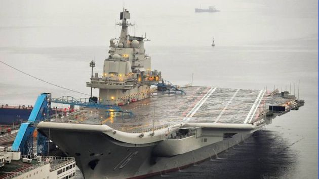 Imagen del portaaviones Liaoning. (Reuters)