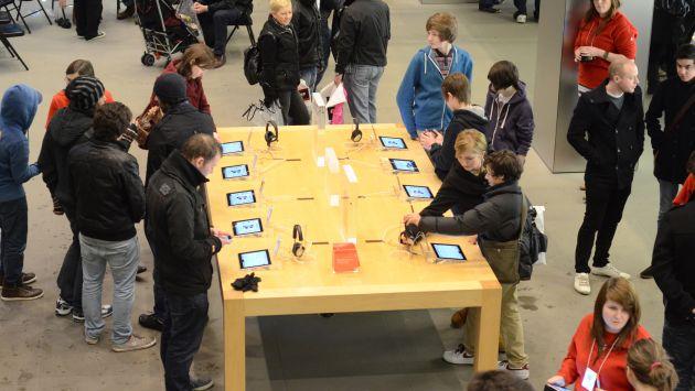 GANANCIA MENOR. Apple ajusta precios para competir. (USI)