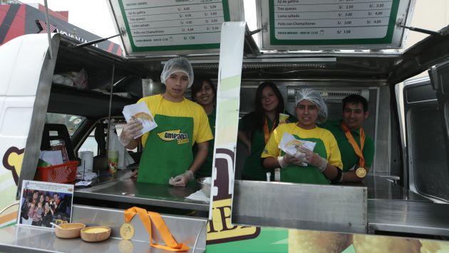 S/.4 es el precio de las diversas empanadas. (César Fajardo)