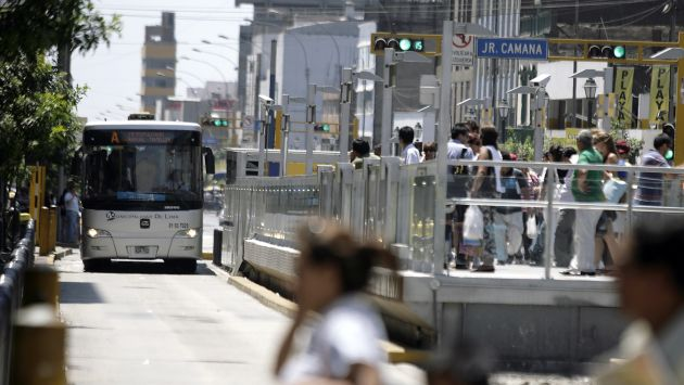 A LA ESPERA. La reunión del jueves será clave para definir el costo del pasaje del sistema vial. (Alberto Orbegoso)