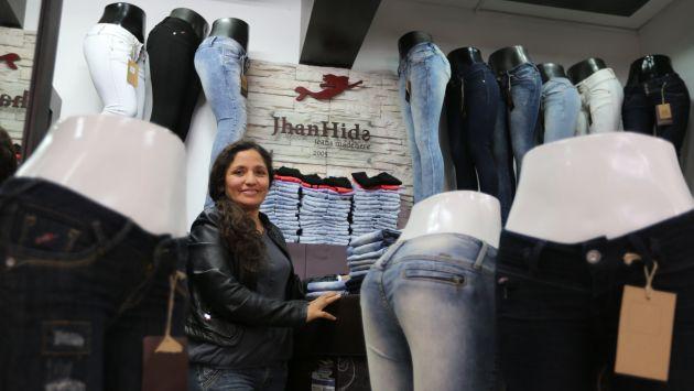Algo de S/.40 en promedio invierte para confeccionar un pantalón jean. (USI)