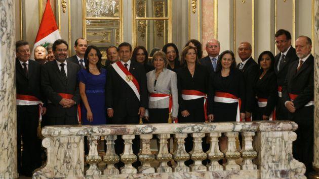 Ollanta humala no realizar cambios de ministros en el for Ministros del peru