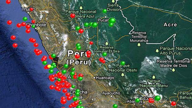 (Fuente: Instituto Geofísico del Perú)